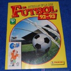 Álbum de fútbol completo: ESTRELLAS DE LA LIGA DE FUTBOL 92-93 - PANINI ¡COMPLETO E IMPECABLE!. Lote 25147839