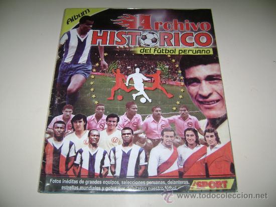 Album Archivo Histórico De Futbol Peruano Editorial Bocón 100 Completo