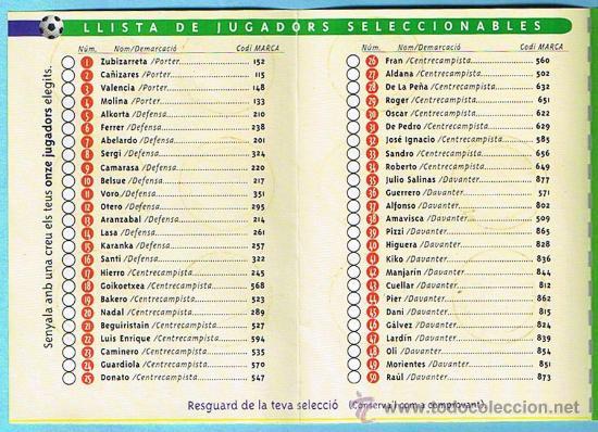 Álbum de fútbol completo: FÚTBOL. LEUROCOPA 96. FITXA DE SELECCIONADOR. REGALO DE LOS REFRESCOS DE LA CASA COCA COLA. - Foto 5 - 19936695