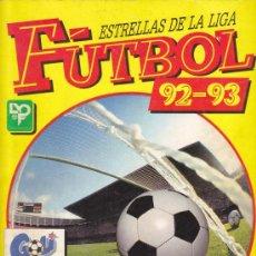 Álbum de fútbol completo: FUTBOL 92-93 - ESTRELLAS DE LA LIGA - ALBUM PANINI - COMPLETO. Lote 19096124