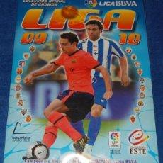 Album de football complet: LIGA 2009 2010 - EDICIONES ESTE ¡COMPLETO E IMPECABLE!. Lote 19268531