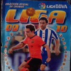 Álbum de fútbol completo: LIGA 2009 / 2010 , ED. ESTE , CASI COMPLETO. Lote 22182544