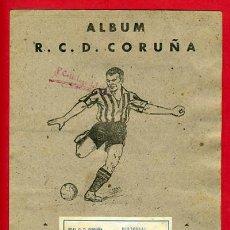 Álbum de fútbol completo: ALBUM FUTBOL COMPLETO , ORIGINAL , DEPORTIVO DE LA CORUÑA , EDITORIAL VALENCIANA. Lote 27214737