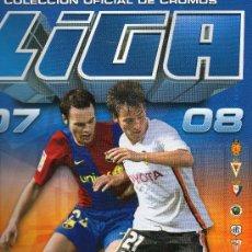 Álbum de fútbol completo: ALBUM ESTE , LIGA 07 -08 . 338 CROMOS MUY BIEN COLOCADOS .ALBUM PARA COLECCIONISTA. Lote 25671682