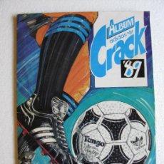Álbum de fútbol completo: ALBUM FUTBOL URUGUAYO URUGUAY 304 CROMOS ADIDAS CRACK '89, AÑO 1989. (FALTAN SOLO 7 CROMOS).. Lote 26769457