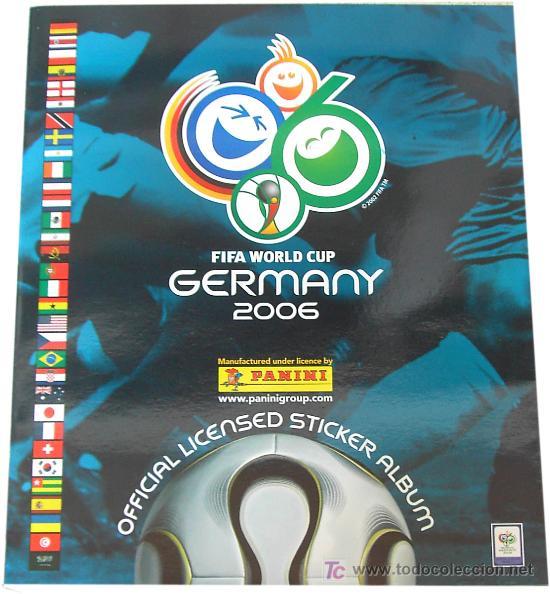 LOTE4149 ALBUM MUNDIAL 2006 EDICIÓN AMERICANA (Coleccionismo Deportivo - Álbumes y Cromos de Deportes - Álbumes de Fútbol Completos)