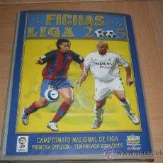 Álbum de fútbol completo: LAS FICHAS DE LA LIGA 2005 (ED. MUNDICROMO) COMPLETISIMO CON 734 FICHAS DIFERENTES FALTAN SOLO 12. Lote 194619573