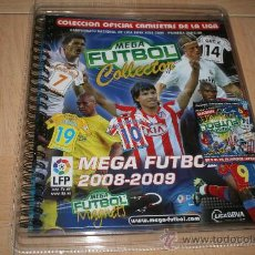 Álbum de fútbol completo: COLECCION MEGA MAGNETS CAMISETAS TEMPORADA 2008-09. Lote 21456653