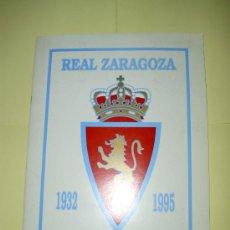 Álbum de fútbol completo: ALBUM HISTORIA REAL ZARAGOZA MAGIC BOX. Lote 22024815