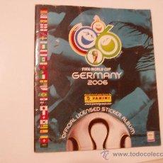 Álbum de fútbol completo: ALBUM FUTBOL MUNDIAL ALEMANIA 2006 VACIO. Lote 22072357