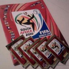 Álbum de fútbol completo: MUNDIAL 2010 COLECCION PANINI ALBUM + 640 CROMOS. Lote 22166510
