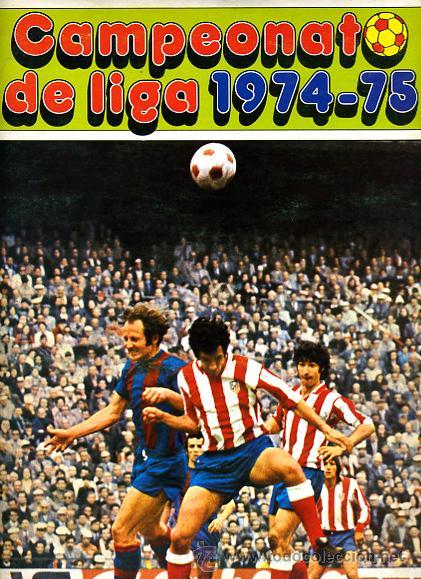 ALBUM FUTBOL ,LIGA 1974-75 , 74-75, COMPLETO , VER FOTOS , FHER DISGRA , 321 CROMOS. (Coleccionismo Deportivo - Álbumes y Cromos de Deportes - Álbumes de Fútbol Completos)
