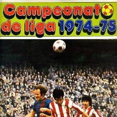 Álbum de fútbol completo: ALBUM FUTBOL ,LIGA 1974-75 , 74-75, COMPLETO , VER FOTOS , FHER DISGRA , 321 CROMOS.. Lote 27306833