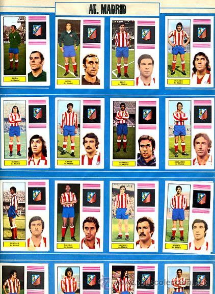 Álbum de fútbol completo: ALBUM FUTBOL ,LIGA 1974-75 , 74-75, COMPLETO , VER FOTOS , FHER DISGRA , 321 CROMOS. - Foto 2 - 27306833