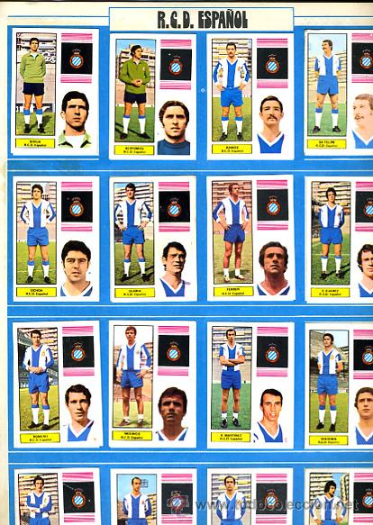 Álbum de fútbol completo: ALBUM FUTBOL ,LIGA 1974-75 , 74-75, COMPLETO , VER FOTOS , FHER DISGRA , 321 CROMOS. - Foto 17 - 27306833