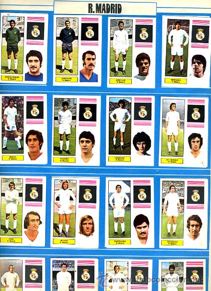 Álbum de fútbol completo: ALBUM FUTBOL ,LIGA 1974-75 , 74-75, COMPLETO , VER FOTOS , FHER DISGRA , 321 CROMOS. - Foto 18 - 27306833