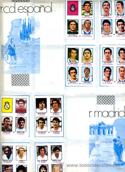 Álbum de fútbol completo: ALBUM FUTBOL ,LIGA 1974-75 , 74-75, COMPLETO , VER FOTOS , FHER DISGRA , 321 CROMOS. - Foto 19 - 27306833