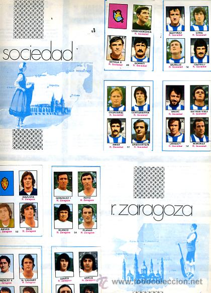 Álbum de fútbol completo: ALBUM FUTBOL ,LIGA 1974-75 , 74-75, COMPLETO , VER FOTOS , FHER DISGRA , 321 CROMOS. - Foto 22 - 27306833