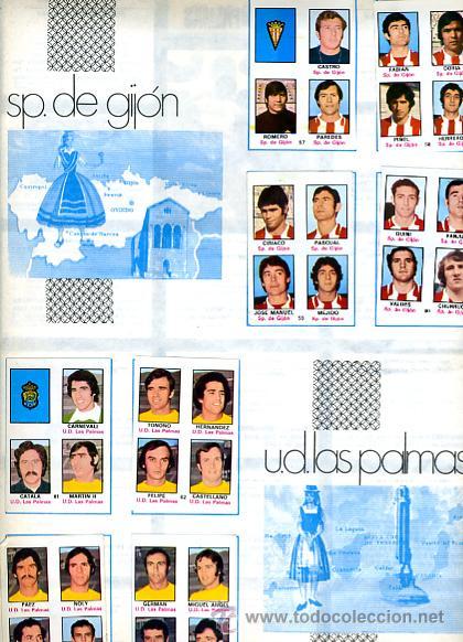 Álbum de fútbol completo: ALBUM FUTBOL ,LIGA 1974-75 , 74-75, COMPLETO , VER FOTOS , FHER DISGRA , 321 CROMOS. - Foto 25 - 27306833