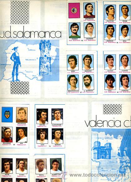 Álbum de fútbol completo: ALBUM FUTBOL ,LIGA 1974-75 , 74-75, COMPLETO , VER FOTOS , FHER DISGRA , 321 CROMOS. - Foto 28 - 27306833