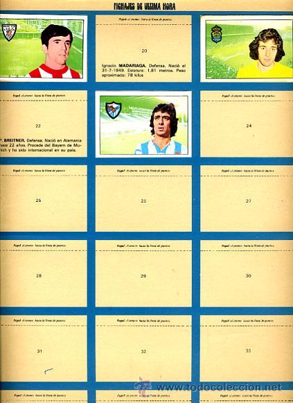 Álbum de fútbol completo: ALBUM FUTBOL ,LIGA 1974-75 , 74-75, COMPLETO , VER FOTOS , FHER DISGRA , 321 CROMOS. - Foto 30 - 27306833