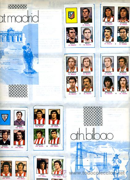 Álbum de fútbol completo: ALBUM FUTBOL ,LIGA 1974-75 , 74-75, COMPLETO , VER FOTOS , FHER DISGRA , 321 CROMOS. - Foto 4 - 27306833