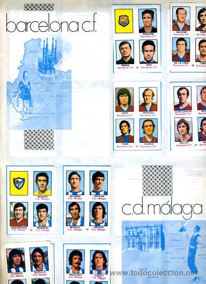 Álbum de fútbol completo: ALBUM FUTBOL ,LIGA 1974-75 , 74-75, COMPLETO , VER FOTOS , FHER DISGRA , 321 CROMOS. - Foto 7 - 27306833