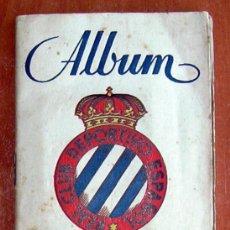 Álbum de fútbol completo: R.C.D. ESPAÑOL - GRAFICAS SIERRA 1946-1947, 46-47 - VER FOTOS Y EXPLICACIONES INTERIORES. Lote 27137229