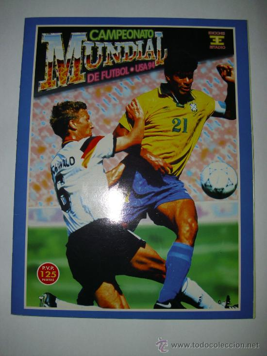 ALBUM MUNDIAL USA 94 - EDICIONES ESTADIO (Coleccionismo Deportivo - Álbumes y Cromos de Deportes - Álbumes de Fútbol Completos)