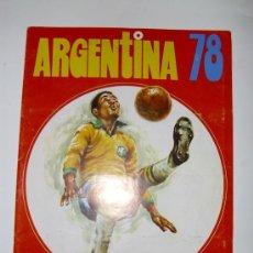 Álbum de fútbol completo: ALBUM MUNDIAL ARGENTINA 78 ED. FHER. Lote 23167010