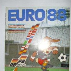 Álbum de fútbol completo: ALBUM COMPLETO EURO ALEMANIA 88 PANINI. Lote 23339008