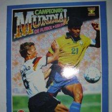 Álbum de fútbol completo: ALBUM COMPLETO MUNDIAL USA 94 EDICIONES ESTADIO. Lote 128580318