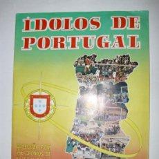 Caderneta de futebol completa: ALBUM COMPLETO IDOLOS DE PORTUGAL 1980 - ED. MABIL GRAFICA (PORTUGAL). Lote 23426819