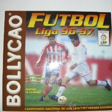 Álbum de fútbol completo: ALBUM COMPLETO LIGA 96-97 BOLLYCAO. Lote 23427375