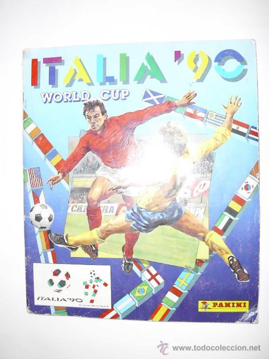 ALBUM COMPLETO MUNDIAL ITALIA 90 - PANINI (Coleccionismo Deportivo - Álbumes y Cromos de Deportes - Álbumes de Fútbol Completos)