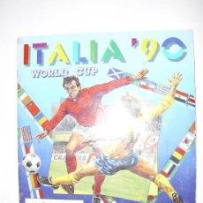 Álbum de fútbol completo: ALBUM COMPLETO MUNDIAL ITALIA 90 - PANINI. Lote 23466708