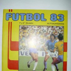 Álbum de fútbol completo: ALBUM LIGA FUTBOL 83 - ED. PANINI. Lote 23755458