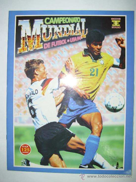 ALBUM MUNDIAL USA 94 - ED. ESTADIO (Coleccionismo Deportivo - Álbumes y Cromos de Deportes - Álbumes de Fútbol Completos)