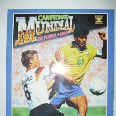 Álbum de fútbol completo: ALBUM MUNDIAL USA 94 - ED. ESTADIO. Lote 23755993
