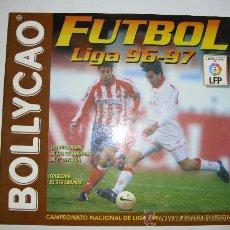 Álbum de fútbol completo: ALBUM VACIO LIGA 96-97 BOLLYCAO. Lote 23756845