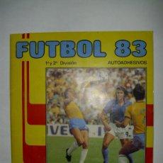 Álbum de fútbol completo: ALBUM FUTBOL LIGA 83 - EDITORIAL PANINI. Lote 23865763