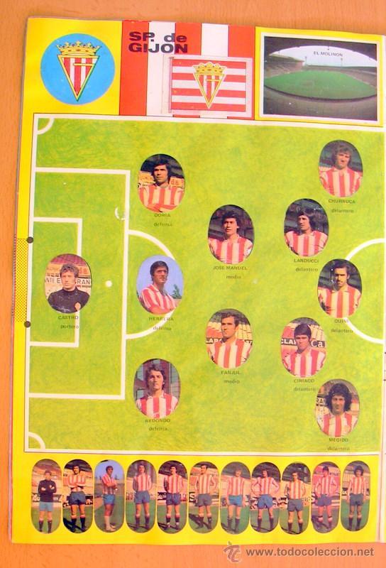 Álbum de fútbol completo: Futbol - Liga 1975-1976, 75-76 - Editorial Maga - Completo - Foto 3 - 27546249
