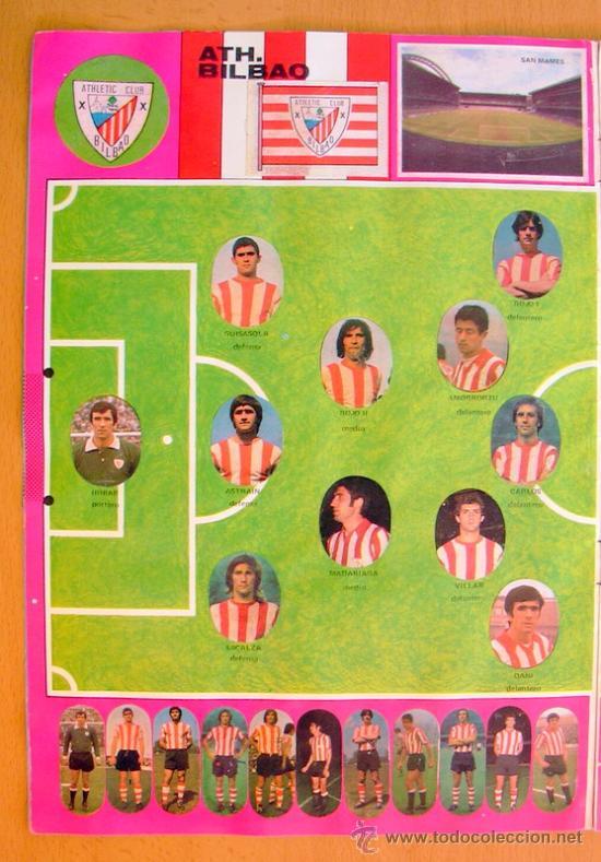 Álbum de fútbol completo: Futbol - Liga 1975-1976, 75-76 - Editorial Maga - Completo - Foto 4 - 27546249