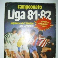 Álbum de fútbol completo: ALBUM ED.ESTE 81-82. Lote 24720817