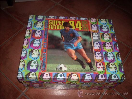 ALBUM DE LA LIGA 83-84 DE CROMOS ROLLAN ,CON TODOS LOS CROMOS EDITADOS (Coleccionismo Deportivo - Álbumes y Cromos de Deportes - Álbumes de Fútbol Completos)