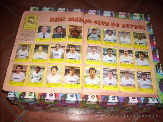 Álbum de fútbol completo: ALBUM DE LA LIGA 83-84 DE CROMOS ROLLAN ,CON TODOS LOS CROMOS EDITADOS - Foto 5 - 24950852