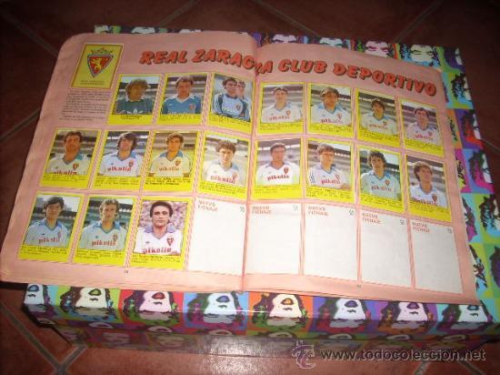 Álbum de fútbol completo: ALBUM DE LA LIGA 83-84 DE CROMOS ROLLAN ,CON TODOS LOS CROMOS EDITADOS - Foto 6 - 24950852