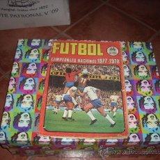 Álbum de fútbol completo: ALBUM DE LA LIGA 1977-78 DE RUIZ ROMERO COMPLETO. Lote 24954021
