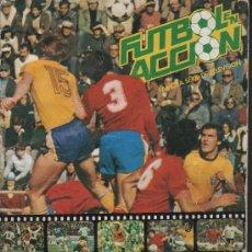 Album de football complet: FUTBOL EN ACCION.- DANONE.- ALBUM COMPLETO DE 96 CROMOS.. Lote 25070396