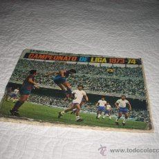 Álbum de fútbol completo: ALBUM DE LA LIGA 1973-74 DE FHER COMPLETO CON POSTER CENTRAL Y ORTUÑO DIFICL,VISITA MI TIENDA. Lote 25752932